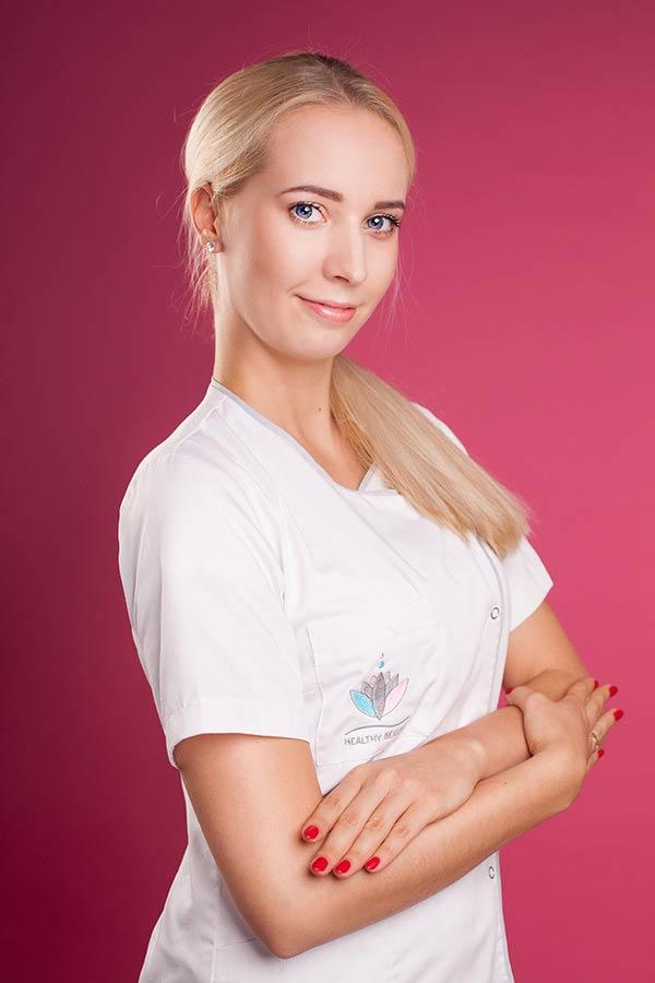 Natalia Sieńczuk kosmetolog w Healthybeauty