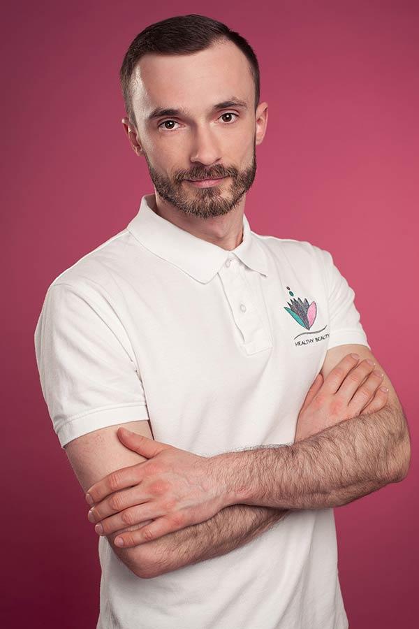 Tomasz Maliński - Fizjoterapeuta w Healthybeauty
