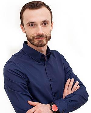 Tomasz Maliński fizjoterapeuta i masażysta
