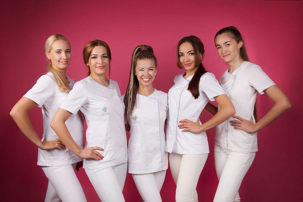 Kadra kosmetologów Healthybeauty