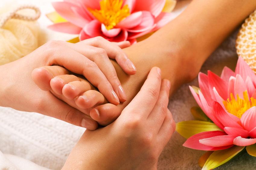 Voucher na masaż stóp