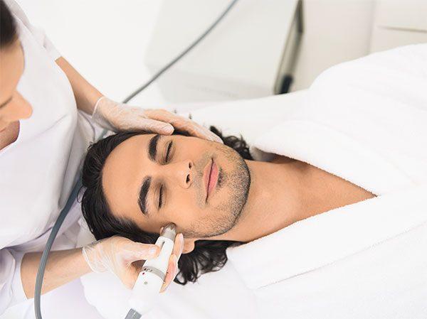 Karboksyterapia na twarz zabieg odmładzający