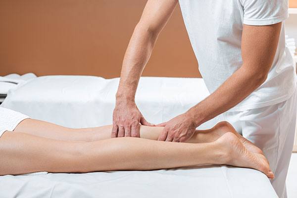 Masaż częściowy - masujemy dokładnie odpowiednie części ciała