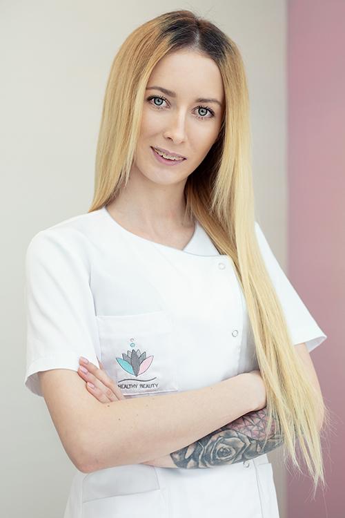 Izabela Fabisiak kosmetolog Healthy Beauty